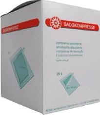 Noba Saugkompressen 20 x 20 cm Steril (25 x 1 Stk.)