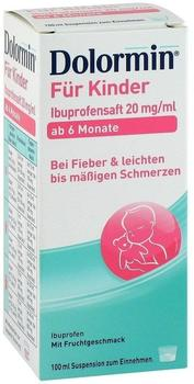 Dolormin für Kinder Ibuprofensaft 20 mg/ml (100ml)