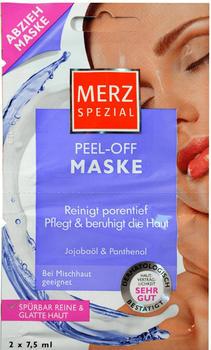 Merz Spezial Peel-off Maske Jojobaöl + Panthenol (2x7,5ml)