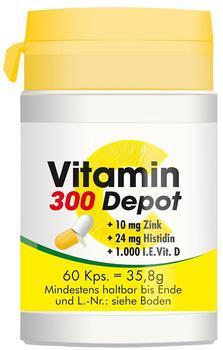 Pharma Peter Vitamin 300 DepotDepot + Zink + Histidin + D Kapseln (60 Stk.)