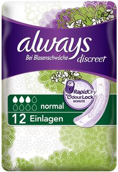 Always Discreet Normal 12 St.