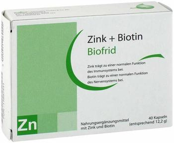 Biofrid GmbH & Co KG Zink + Biotin