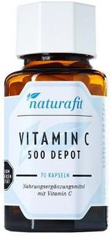 NATURAFIT Vitamin C 500 Depot Kapseln 240 St.