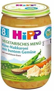 Hipp Vegetarisches Menü Käse-Makkaroni mit buntem Gemüse (220 g)