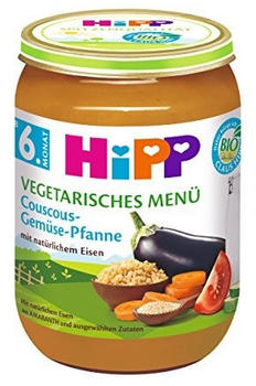 Hipp Vegetarisches Menü Couscous Gemüse Pfanne (190g)