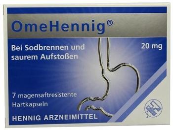 Omehennig 20 mg bei Sodbrennen