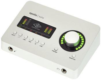 Universal Audio Apollo Solo Thunderbolt 3