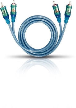 Oehlbach 92020 ICE BLUE Cinch (1m)