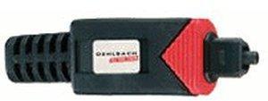 Oehlbach 6016 Red Opto Star Co Toslink-Stecker