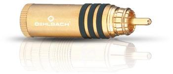 Oehlbach 4164 Hyper Cut Cool Gold Cinchstecker 11 mm