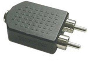 InLine 99343 Audio Adapter 3,5mm Klinke Bu an 2x Cinch St