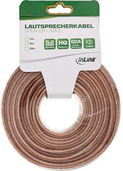 InLine 98350C Lautsprecherkabel, 25m, (2x 2,5mm²)