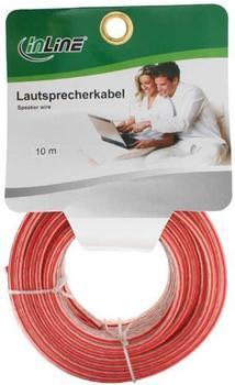InLine 98310C Lautsprecherkabel, 10m, (2x 2,5mm²)