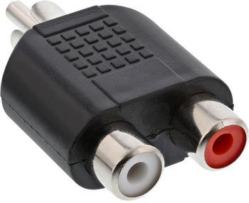 InLine 99310 Audio Adapter, Cinch St an 2x Cinch Buchse