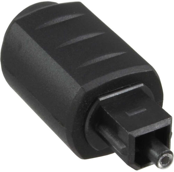 InLine 89907 OPTO Audio Kupplung, 3,5mm Buchse / Toslink Stecker