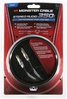 Monster 120502 Audiokabel-Stereo 350i (1m)