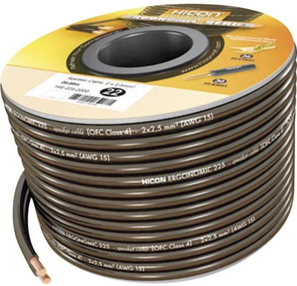 Sommer Cable HIE-225-1000 Hicon Ergonomic Lautsprecherkabel 2,5mm² (10m)