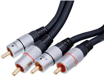 HQ HQSS3611/2.5 Stereo Cinchkabel (2,5m)