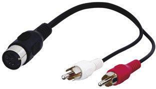 Goobay AVK 104-0020 Audio-Video-Kabel (0,2m)