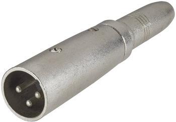 Paccs Adapter XLR-M / 6,3 Klinke-F Stereo