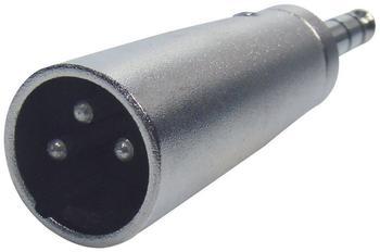 Paccs Adapter XLR-M / 6,3 Klinke-M Stereo