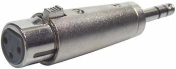 Paccs Adapter XLR-F / 6,3 Klinke-M Stereo