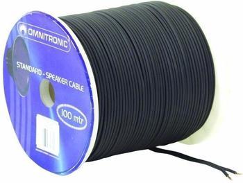 Omnitronic LS-Flachkabel 2 x 1,5mm² (100m)