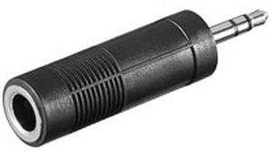 Goobay A 173 3,5mm Klinken-Adapter Stereo