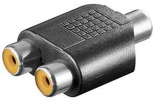 Goobay A 187 Cinch-Kupplung Adapter