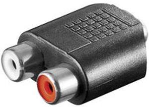 Goobay A 206 Cinch-Adapter