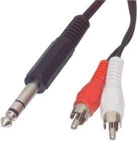 Valueline CABLE-413 6,3mm Klinken-Adapterkabel (1,5m)