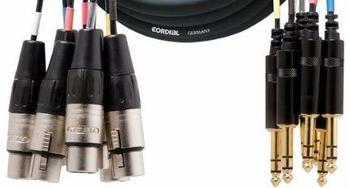 Cordial CML 8-0 FV 5 C Multicore-Kabel (5m)