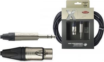 Stagg XAC6PSXF Mikrofonkabel (6m)