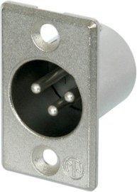 Neutrik NC3MP 3 poliger Chassisstecker