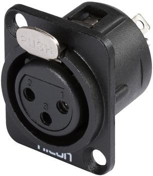Sommer Cable Hicon XLR-Steckverbinder Flanschbuchse HI-X3DF-M 1 St.