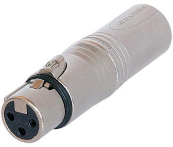 Neutrik NA3FM - Adapter XLR-Buchse/Stecker, 3-polig NEUTRIK