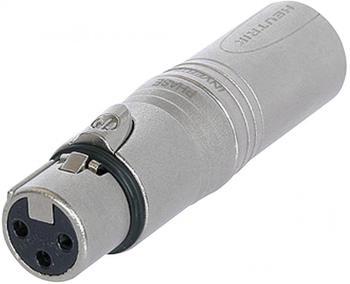 Neutrik NA3FMX Adapter XLR male -- XLR female