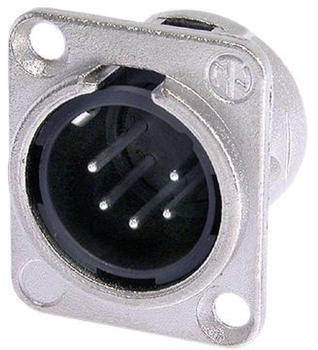 Neutrik XLR-Einbaustecker NC-5MDL1