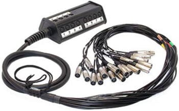 Cordial CYB 8-4 C 15 Multicore Kabel (8x IN/4x Out, Länge 15m)