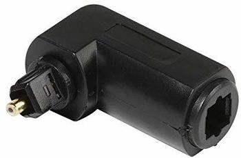 Vivanco Toslink Digital-Audio Adapter [1x Toslink-Stecker (ODT) - 1x Toslink-Stecker (ODT)] 0 m Schwarz