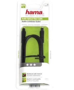 Hama 0.75 m Audio-Lichtleiter-Kabel