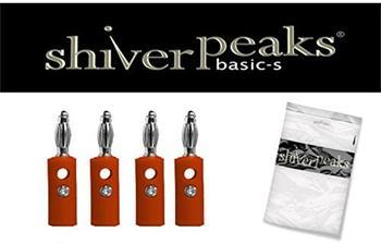 Shiverpeaks BASIC-S Bananenstecker, rot