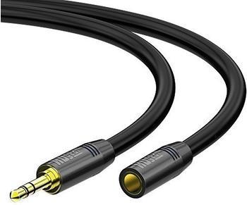 HDgear AC0210-100 Klinken Verlängerung 3,5mm Stereo 10,0m