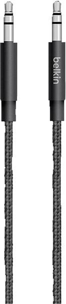Belkin MixIt Premium Audiokabel (1,2 m) schwarz