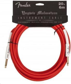 Fender YJM Instrument Cable 6m Red Instrumentenkabel