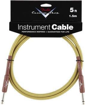 Fender Custom Shop Cable Tweed 1,5m Instrumentenkabel