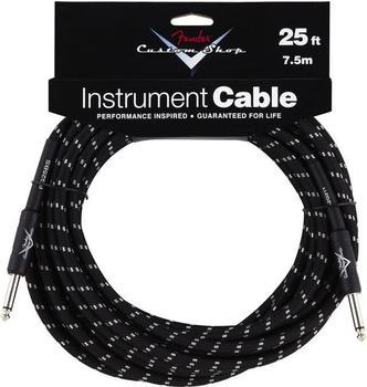 Fender Custom Shop Cable BKTW 7,5m Instrumentenkabel