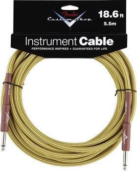 Fender Custom Shop Cable Tweed 5,5m Instrumentenkabel
