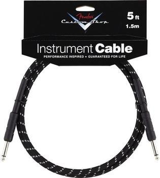 Fender Custom Shop Cable BKTW 1,5m Instrumentenkabel