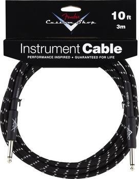 Fender Custom Shop Cable BKTW 3m Instrumentenkabel
